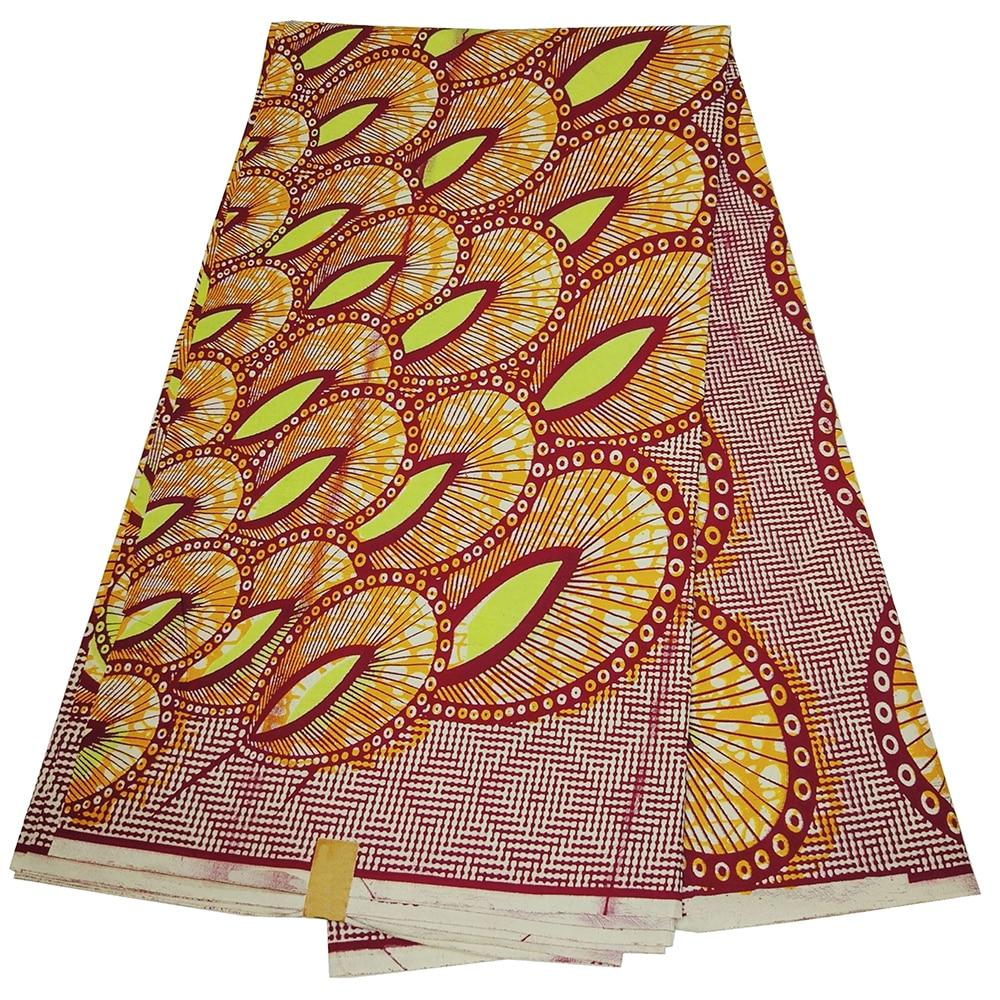 African Wax Prints Nigerian Ankara Printed Fabric 100% Cotton African Fabric Real Dutch Wax