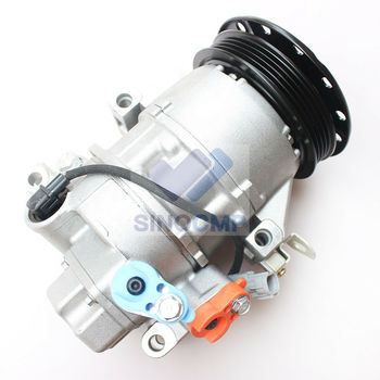 4PK 447260-1780 Air Compressor New Air Conditioning Compressor AC Compressor Clutch Assy for Toyota Yaris 1.3 Denso 5SER09C фото