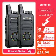 2pcs RETEVIS RT22S Handsfree Walkie Talkie RT22 Upgrade VOX Hidden Display Two Way Radio Two-way Radio Transceiver Walkie-talkie