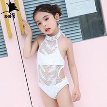 Baby Beach Swimwear Catwalk Girl Sexy Children's Summer Cute Siamese Triangle Show New-Arrival