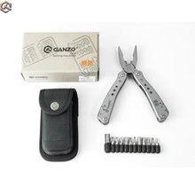 Ganzo G201 Multi Werkzeuge Klapp Zange set multifunktionale Überleben EDC Getriebe Schneiden Multitool Tasche Messer Zangen, multi zange