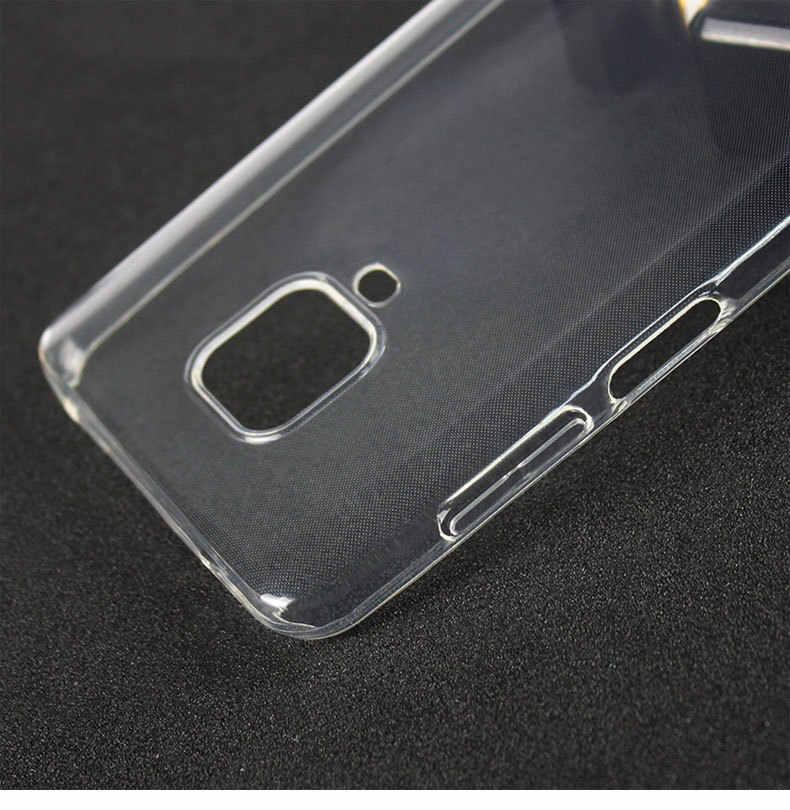 Redmi nota 9 s caso ultra fino claro macio tpu silicone caso para xiaomi redmi nota 9 note9 pro max versão global