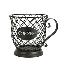 European Style Simple Coffee Pod Holder Organizer Fruit Storage Basket