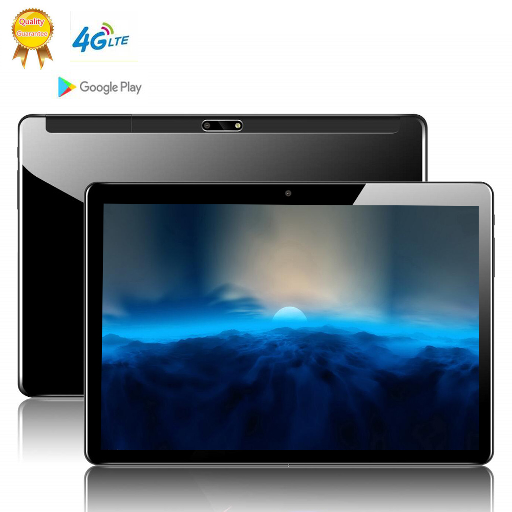 2020 Russia Free Shipping Global Version 10 Inch 2.5D Tablet PC 10 Deca  Core 8GB RAM 64GB ROM Android 9.0 WiFi 3G 4G LTE IPS