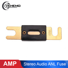 Mobil Otomotif Van Stereo Audio Anl Fuse 80 100 150 200 300 350 400A 80-400A Amp(China)