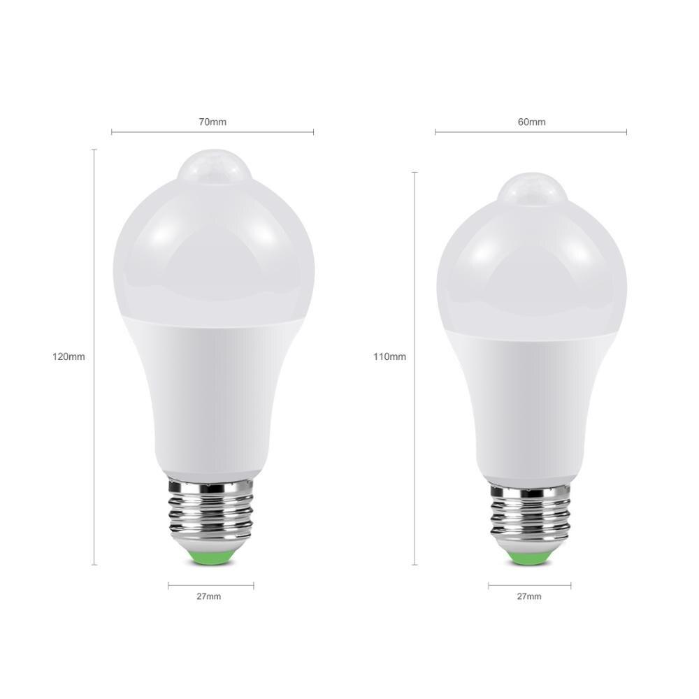 12 Вт, 18 Вт, датчик движения, светодиодный светильник для лестничных коридоров, 110 В, 220 В, для прохода, дверного проема, инфракрасный, индукционный, светодиодный, Ночной светильник, Сенсорная лампа