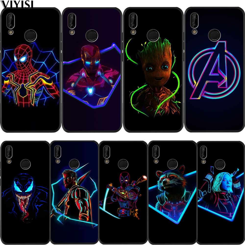 Case Marvel Avengers Spider-Man Groot For Huawei P30 For huawei ...
