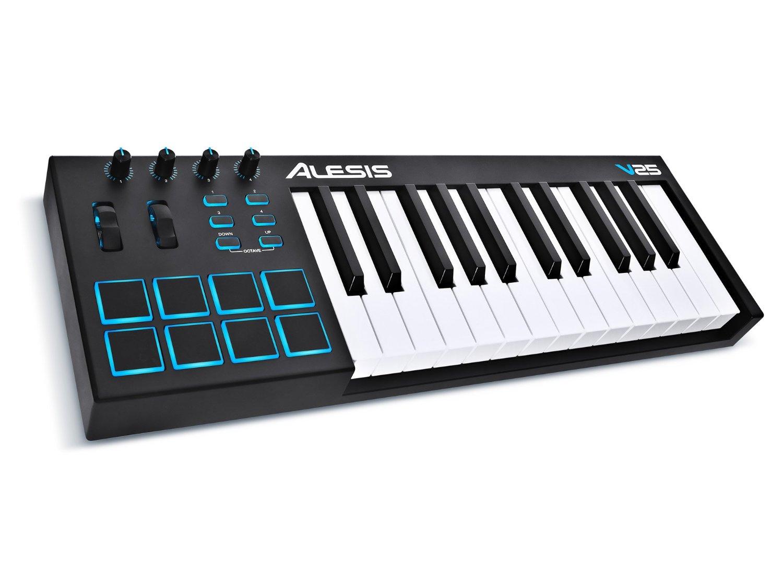 V25 Vi25 V49 V61 Vi61 MIDI Keyboard Controller With Golf Mat Arranger
