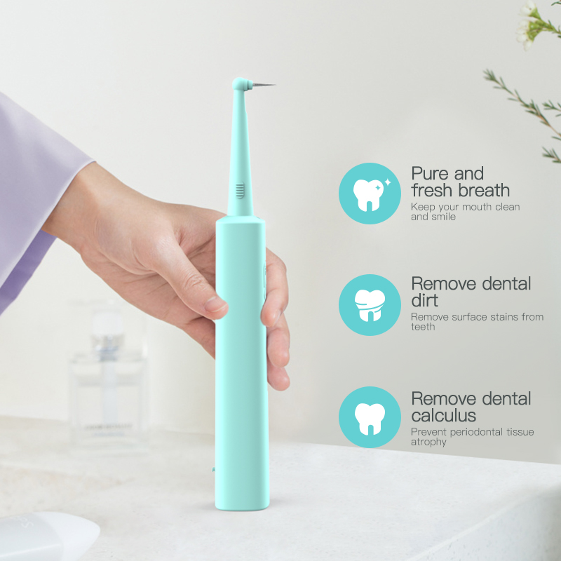 Portable Electric Sonic Dental Scaler Ultrasonic Oral Irrigator Tooth Whitening Cleaning Device IPX6 Waterproof Calculus Remover