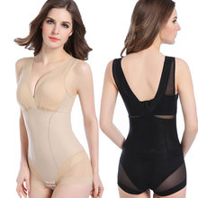 Lady Afslanken Burn Vet Slips Shapewear Tummy Slim Bodysuit Full Body Shaper Afslanken Ondergoed Vest Bodysuits Jumpsuit L-XXL(China)