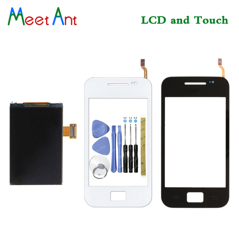 High Quality 3.5'' For Samsung Galaxy Ace S5830 S5830i Lcd Display With <font><b>Touch</b></font> Screen Digitizer Sensor image