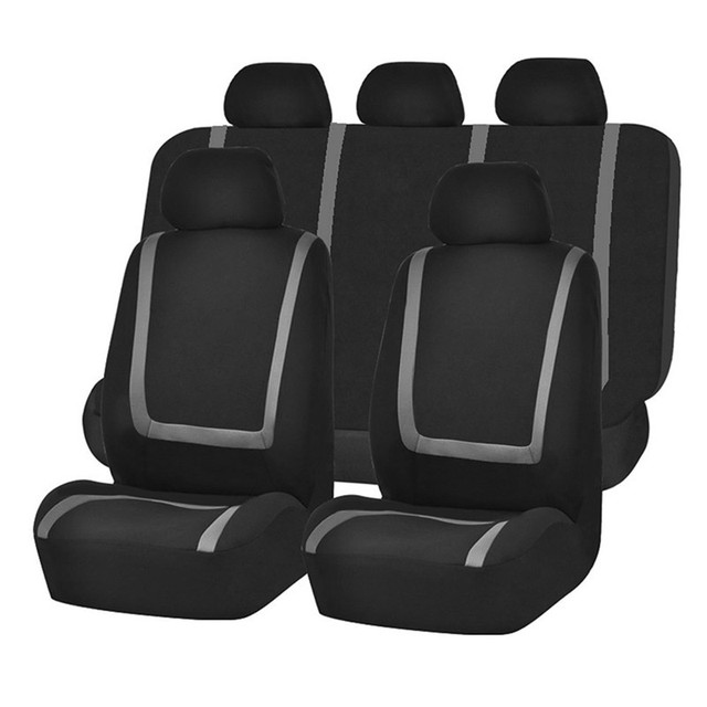 O SHI CAR Fashion Sports Style Automobile Seat Cover Universal Fabric Chairs Protective Sleeve Auto Seats Case Cars Accessories