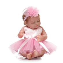 26cm Cute Lifelike Lovely Non-toxic Silicone Baby Shower Toy Water Bath Full Body Simulation lifelike mask sf 5 silicone skinmask dressing props cd change non toxic factory