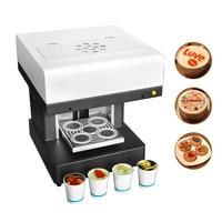 Automatic 4 cups Inkjet Coffee printer Macaroon Cupcake Food printer coffee printing machine with edible ink|Printers|   -