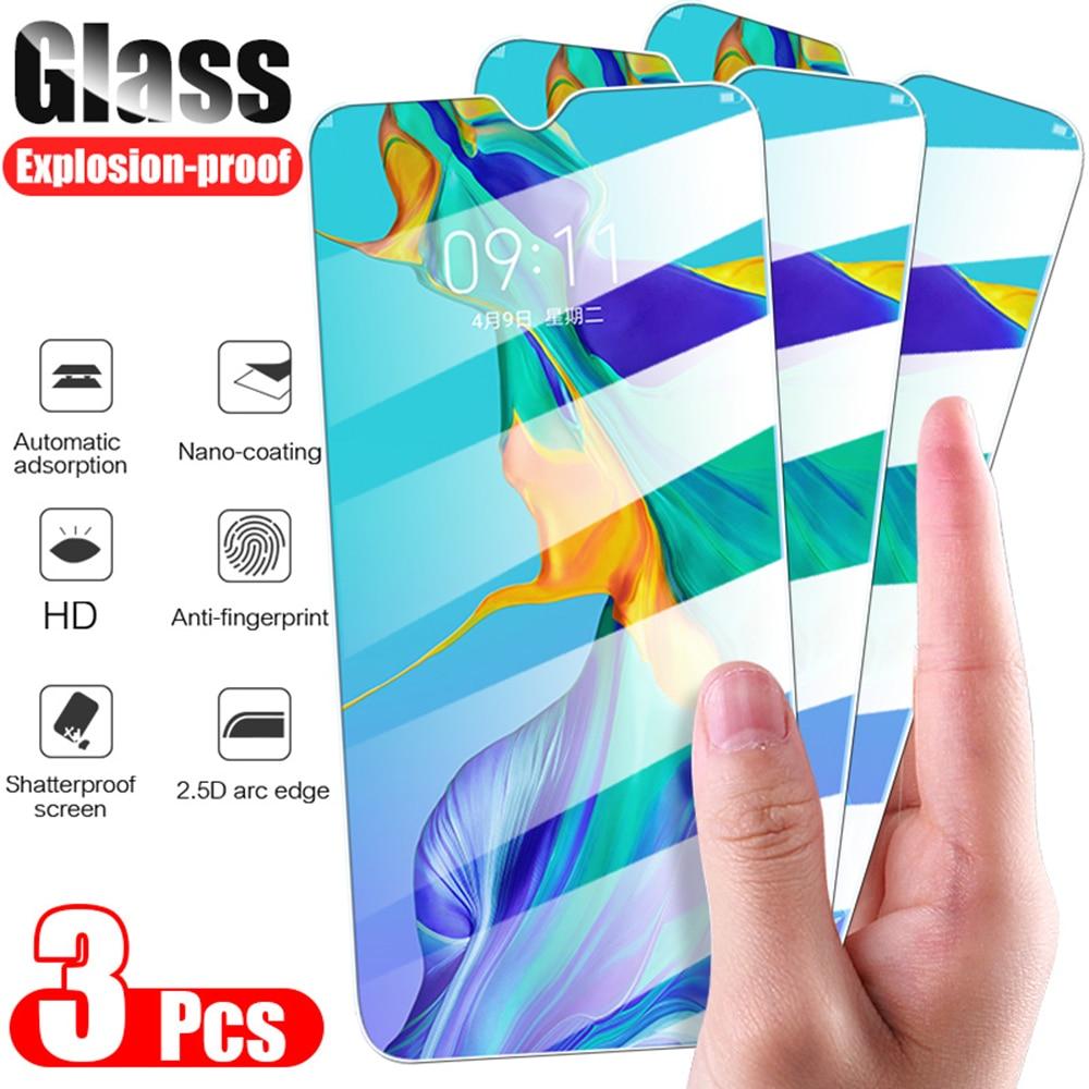 3 шт. закаленное стекло для Huawei P20 P40 P30 lite Mate 20 защита для экрана защитное стекло на honor 20 8X 9X 10 lite 10i 8A стекло|Защитные стёкла и плёнки|   | АлиЭкспресс