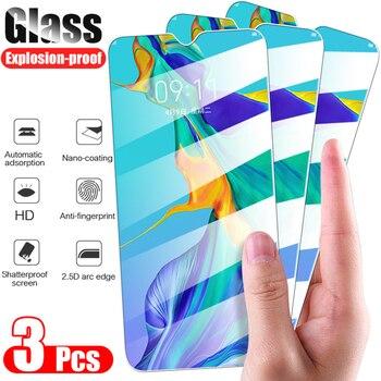 3 шт. закаленное стекло для Huawei P20 P40 P30 lite Mate 20 защита для экрана защитное стекло на honor 20 8X 9X 10 lite 10i 8A стекло Защитные стёкла и плёнки      АлиЭкспресс