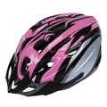 Велосипедный шлем для взрослых  красивый углеродный шлем с козырьком  розовая окружность головы 54-65 см/ширина головы ниже 16 см