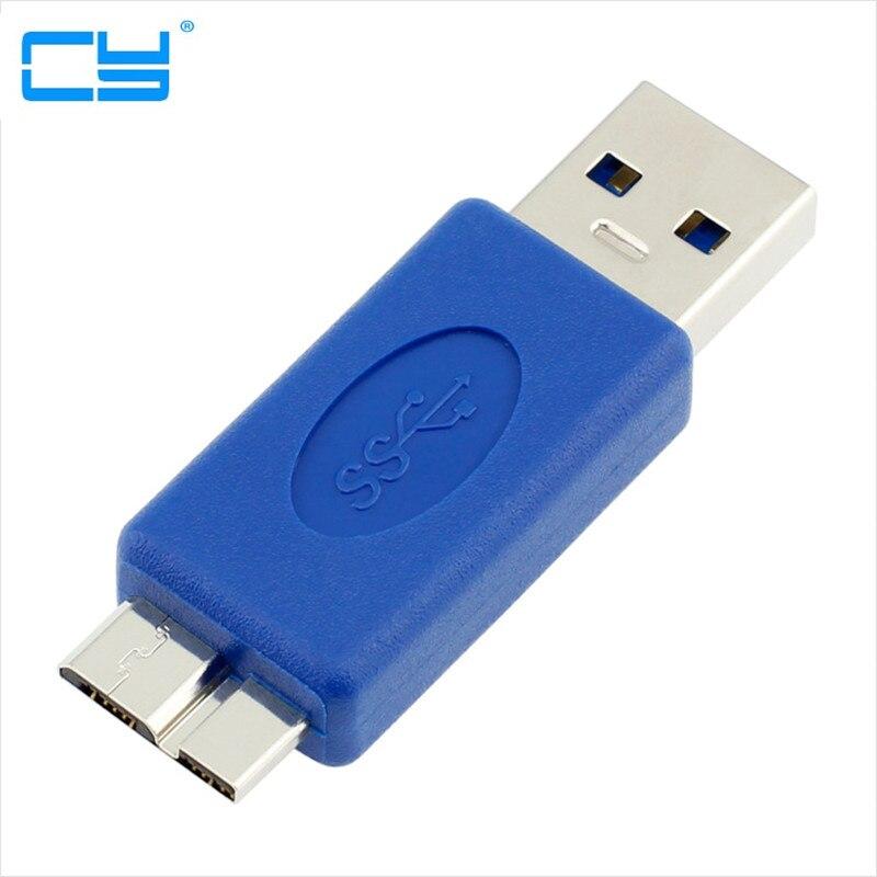 Standard USB 3.0 Type A Male To Micro B Male A-MICRO Adapter Bule