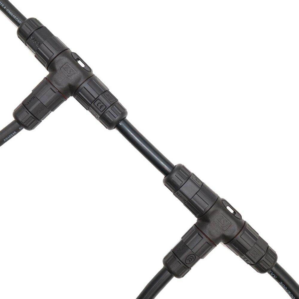 L25 waterproof connector 2pin T shape