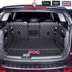 سيارة فرش داخلي للسيارات والشاحنات لسيارات BMW MINI ONE كوبر F54 F55 F56F60R60 لوحة من الجلد JCW أجزاء كونتري مان كلوبمان هاتشباك الملحقات الداخلية