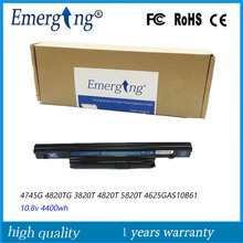 10.8V 4400mah New Laptop Battery for Acer Aspire 3820T 3820TG 4820T 5820T AS5820 AS10B61 AS7745  AS10B6E AS10B7