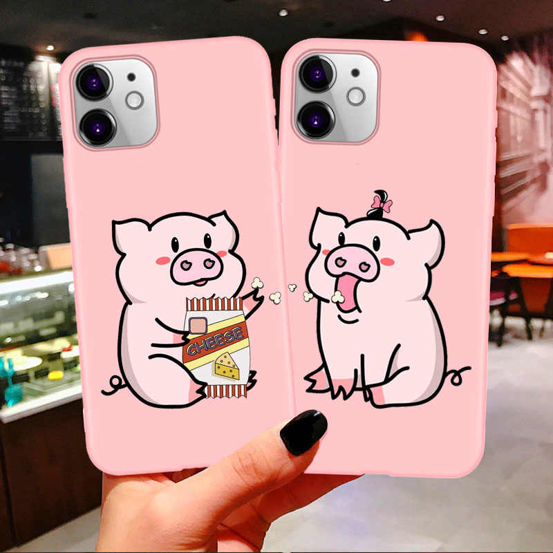 Bff Best Friends Couples Soft Phone Case For iphone 11 Pro Max