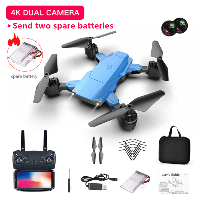 Hot Dual Camera HD 4K Folding Drone Aerial Photography Toys Adult Kids Fixed-height RC Quadcopter Toy Dropshipping