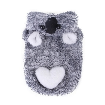 Winter Soft Fleece Dog Clothes Pet Dog Coral Velvet Coat For Small Large Dog Funny Koala Cosplay Costume Puppy Cat Warm Jacket # image