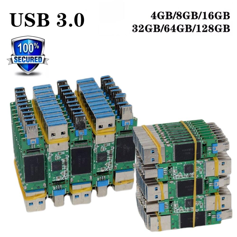 Usb-3.0 Drive U-Disk Universal-Chip 128GB 16GB 4GB 32GB 64GB Semi-Finished Factory-Wholesale