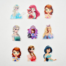 Princess Resin Cabochons Charms For SLIME Decoration DIY Accessories Cute Cartoon Girl