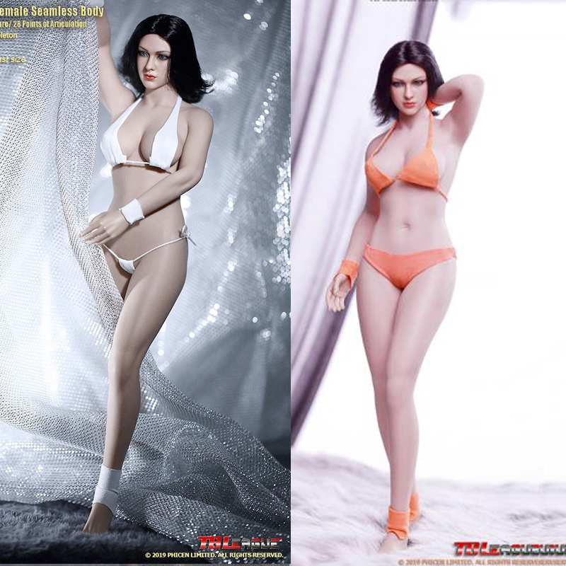 TBLeague PHICEN 1//6 Asian Female Seamless Figure Doll Set S04B PALE USA IN STOCK