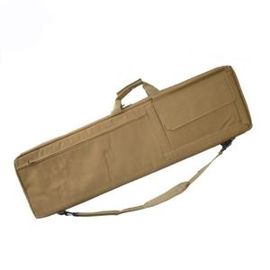 Image 4 - Черный/коричневый тактический Чехол для винтовки, страйкбольная кобура, сумка для оружия, тактический охотничий рюкзак, Военный Рюкзак, Сумка для кемпинга, рыболовных принадлежностей