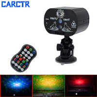 Car Starry Sky Projection Decorative Light Remote/Sound Control Timing Rotating Party Lights Laser Star Light Atmosphere Lamp