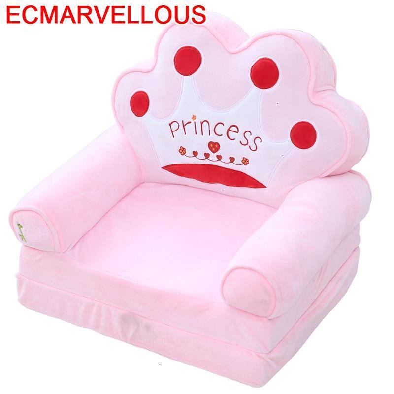 Menina Prinses Stoel Kids Couch Bedroom Mini Divano Bambini Divan Enfant Dormitorio Infantil Baby Children Children's Sofa