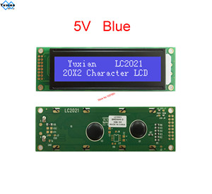 Image 2 - LCD ekran modülü 2002 20X2 mavi yeşil LC2021 yerine WH2002A AC202D LHD44780