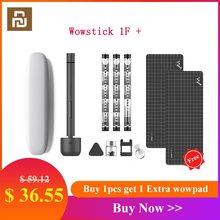 Kit Original de tournevis électrique Youpin Wowstick 1F + 64 en 1 sans fil Lithium-ion Rechargeable alimentation LED Mini tournevis