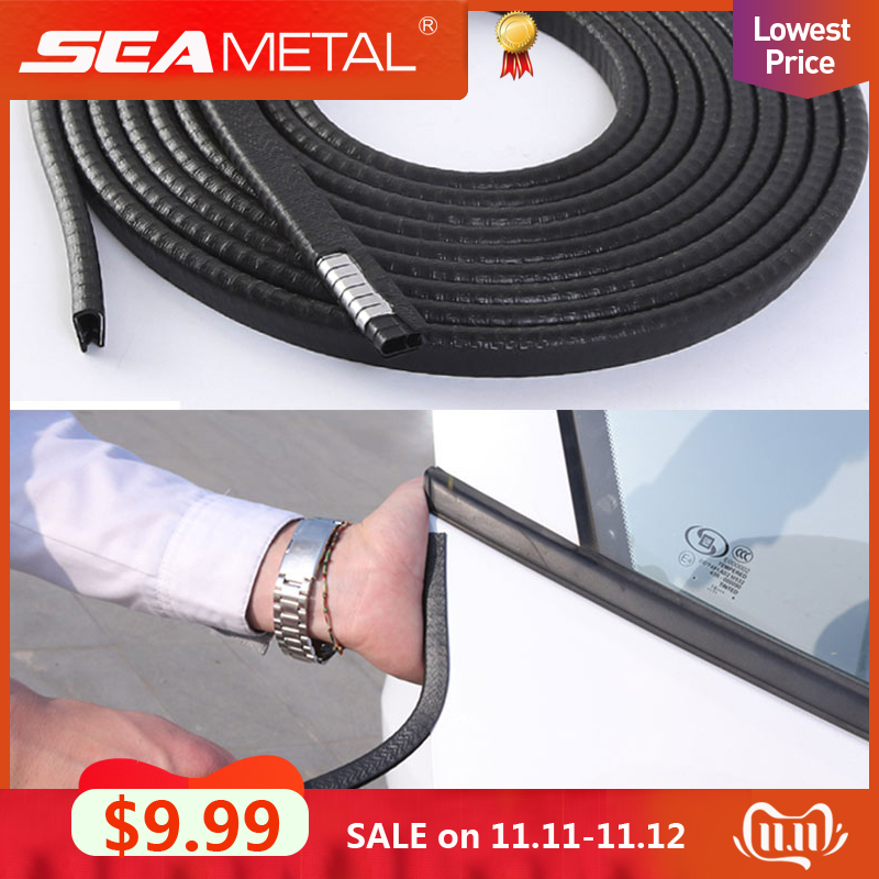 Universal Car Door Edge Scratch Protector 10M Sealing Strip Guard Trim Automobile Door Stickers Decoration Protector Accessories-in Car Stickers from Automobiles & Motorcycles