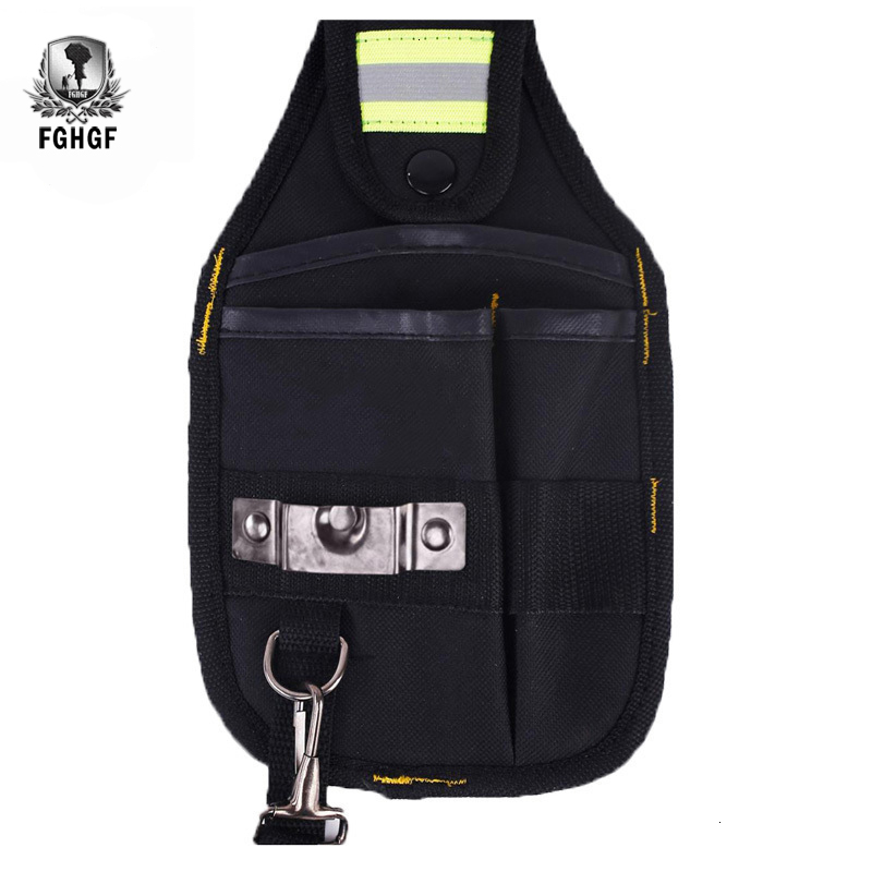 FGHGF Strong Oxford Cloth And Thicken Wear Design Waterproof Electrician Wide Tool Bag Belt Pockets Holder Kit