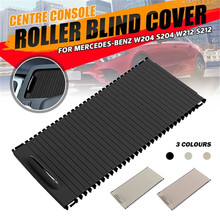 Centre Console Roller Blind Cover For Mercedes C-Class W204 S204 E-Class W212 S212 Car