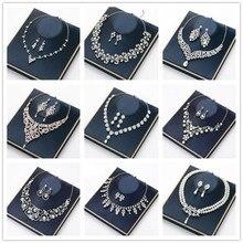 Cc jewelry colar brincos stud, pingente acessórios para casamento para mulheres jóias letras longas colares de ouro pedra bijoux