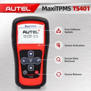 Image 2 - Autel MaxiTPMS TS401 TPMS diagnostics tool 433MHz 315MHz MX Sensor read tire pressure diagnostic activate TPMS programming tool