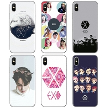 EXO band k-pop kpop для iPhone iPod Touch 11 12 Pro 4 4S 5 5S SE 5C 6 6S 7 8 X XR XS Plus Max 2020 силиконовый чехол для телефона