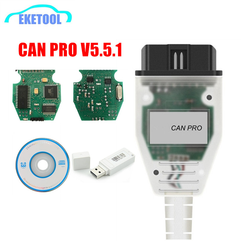 Professional For VAG K-Line USB Scanner VCP V5.5.1 CAN PRO FTDI Chip Auto Diagnostic Interface For AUDI/VW Upgrade ODIS