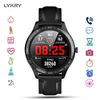 LYKRY L9 Smart Watch ECG Heart Rate Blood Pressure Measure Smartwatch Waterproof Ip68 Watch Men Women For Android IOS