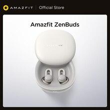 Amazfit Zenbuds słuchawki monitorowanie snu blokowanie szumów lekki długi na baterie życie TWS type-c etui z funkcją ładowania dla iOS Android