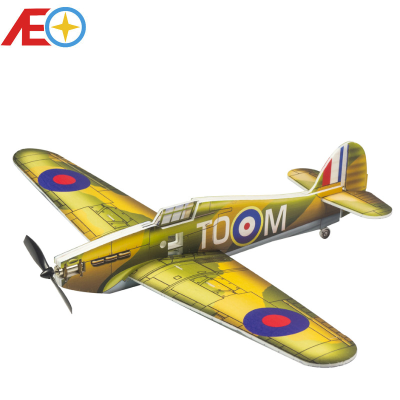 Foam PP Magic Board Micro Indoor Airplane 420mm Hurricane MK.I Lightest plane KIT RC airplane RC MODEL HOBBY TOY HOT SELL PLANE