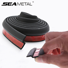 Z Type Car Door Protector Sealing Strip Noise Insulation Car Door Edge Protection Special for Car Door Gap Seal Weatherstripping p type car door edge protection sound insulation car seal strip door protector special for car door gap sealing weatherstripping