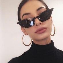 2020 novas mulheres cateye vintage vermelho óculos de sol marca designer retro pontos óculos de sol superstar feminino lady olho gato