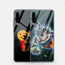 ciciber Dragon Ball For Huawei P30 P20 Mate 20 Lite Pro Tempered Glass Phone Cases for Honor 10 Cover Fundas Coque Shell
