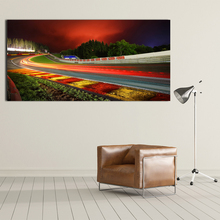 Canvas Printed Pictures Wall Art Painting  Nurburgring Rally Road Home Decoration Poster For Living Room